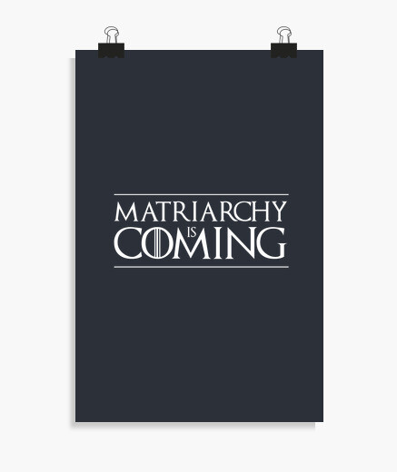 Póster Matriarchy is coming