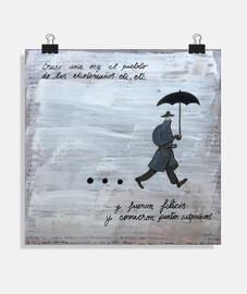 Poster quadrato 1:1 - (40x40 cm)