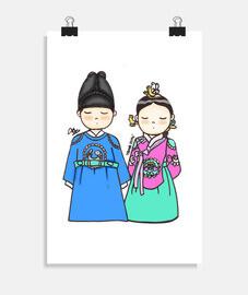 Poster Rey y Reina