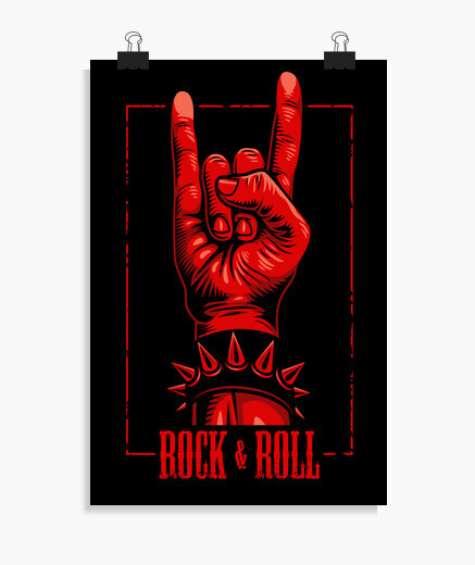 Póster Rock and Roll