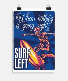 Póster Surf vertical 2:3 - (20 x 30 cm)