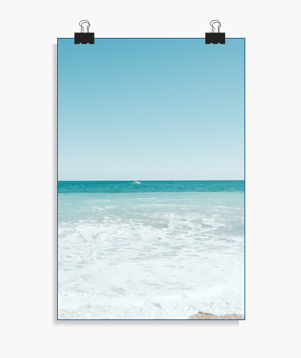 Póster Turquoise beach