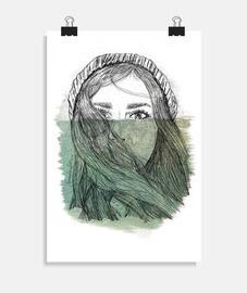 Poster verticale 2:3 - (20 x 30 cm)