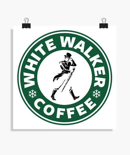 Póster White Walker Coffee (poster)