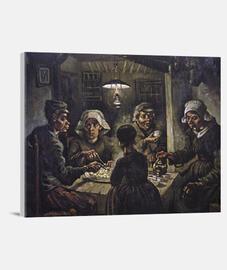 potato eaters (1885)