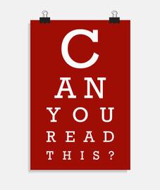 pouvez-vous lire ceci (sombre)