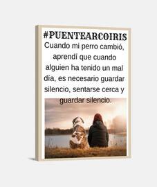 #PUENTEARCOIRIS - Lo que mi perro me en