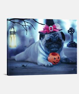 Pug bonito halloween