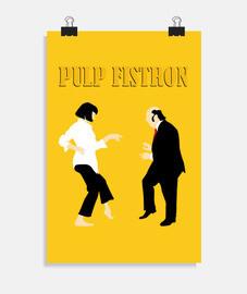 Pulp Fistron Texto (20 x 30 cm)