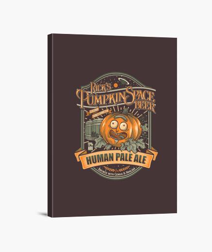 Lienzo Pumpkin Space HPA