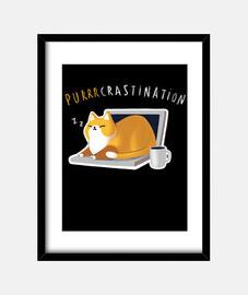 Purcrastination print