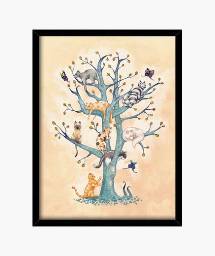 Quadro 2. tree of vita of gatti