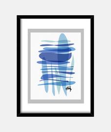 Quadro con cornice verticale 3:4 (30 x 40 cm)