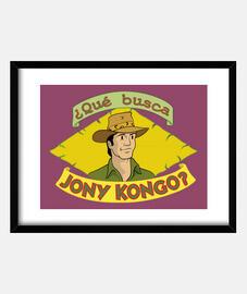 ¿Qué busca Jony Kongo?