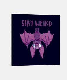 quedate raro murciélago de dibujos anim