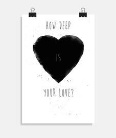 Quelle est la profondeur de ton amour?
