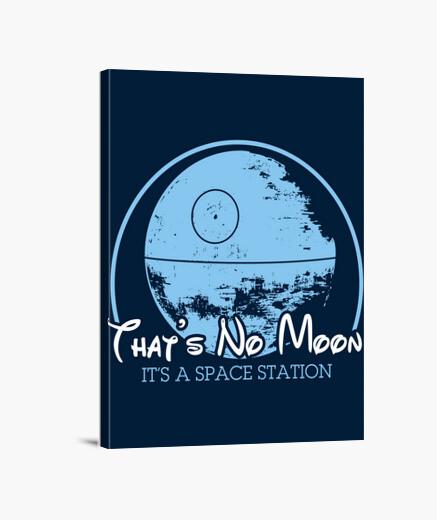Stampa su tela questo è senza moon
