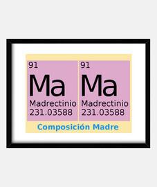 Química de Madre cuadro