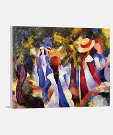 ragazze sotto los alberi (1914)