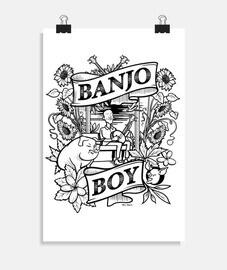 ragazzo banjo