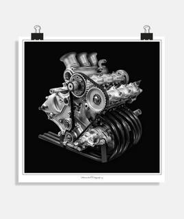 Raro motor ducati tricilindrico