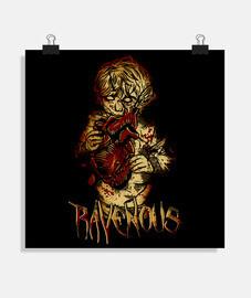 Ravenous zombi kid
