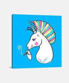 rebel unicorn-per sfondo nero.