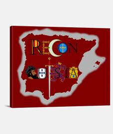 Reconquista mapa