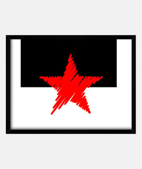 red star strokes