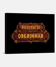 Regalo gamer: Recuerdo de Warcraft