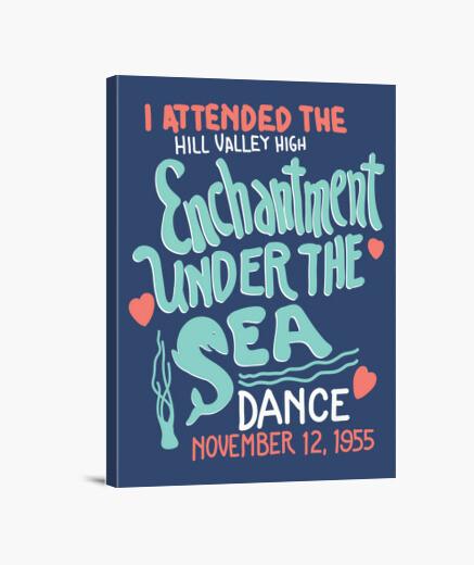 Lienzo Regreso al futuro - Baile del encantamiento bajo el mar