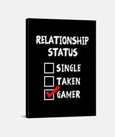 Relationship Status Gamer