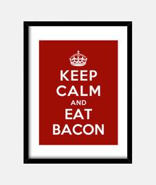 reste calme et mange du bacon