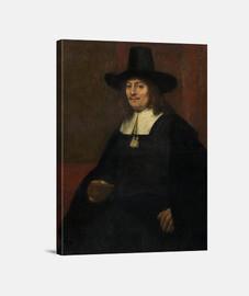 Retrato hombre con sombrero