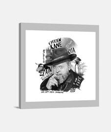 Retrato Orson Wells