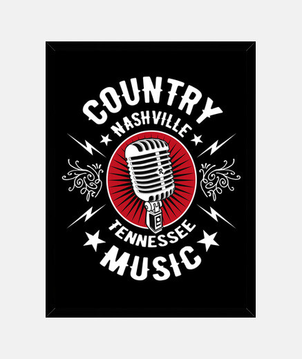 retro country music microphone microphone rockabilly nashville memphis tennessee rock n roll