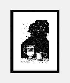 rêve tasses contenant de la caféine