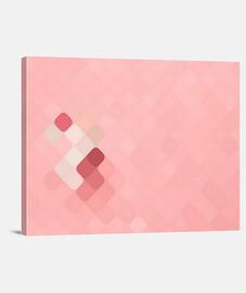 Rhombus fantasy pink