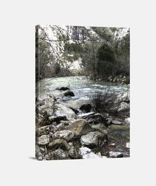 Río Deva lienzo