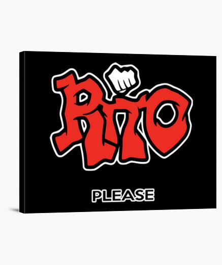 Lienzo Rito please