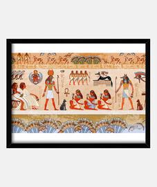 """Ritual egipcio (""""dioses"""" y human"""