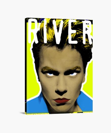 Lienzo River Phoenix Retrato Pop Art