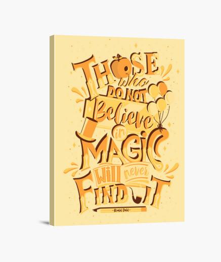 Lienzo Roald Dahl Quote