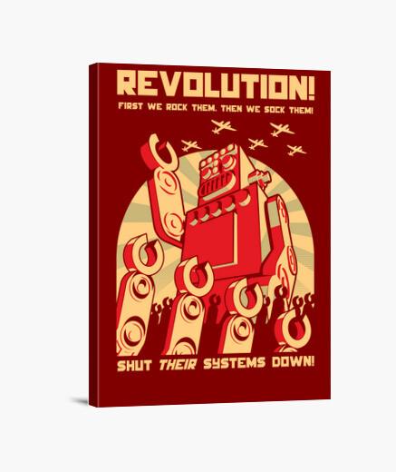 Tableau robot revolutution