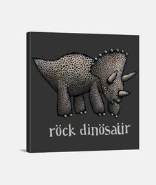 rock dinosaure tricératops
