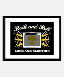 rock e roll forte e elettrica