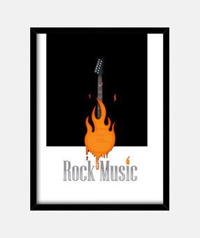 rock music fire
