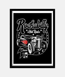 rockabilly hot rod rocker vintage rock and roll foto di rocker usa
