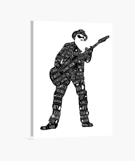 Rockstar lienzo