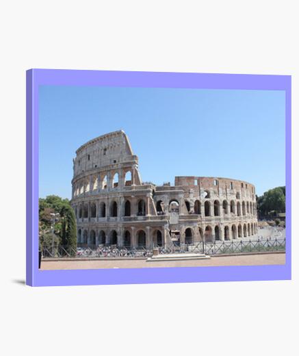 Stampa su tela Roma